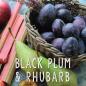 Preview: Black Plum & Rhubarb  Milk Bottle small