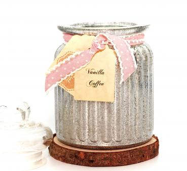 Vanilla Coffee Antique Jar