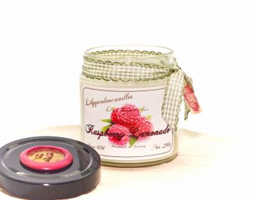 Raspberry Lemonade  Lily Round Jar medium