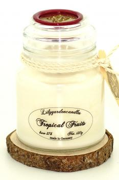 Tropical Fruits  Stopper Jar