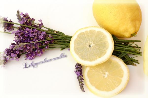 Lemon Lavender  Milk Bottle large